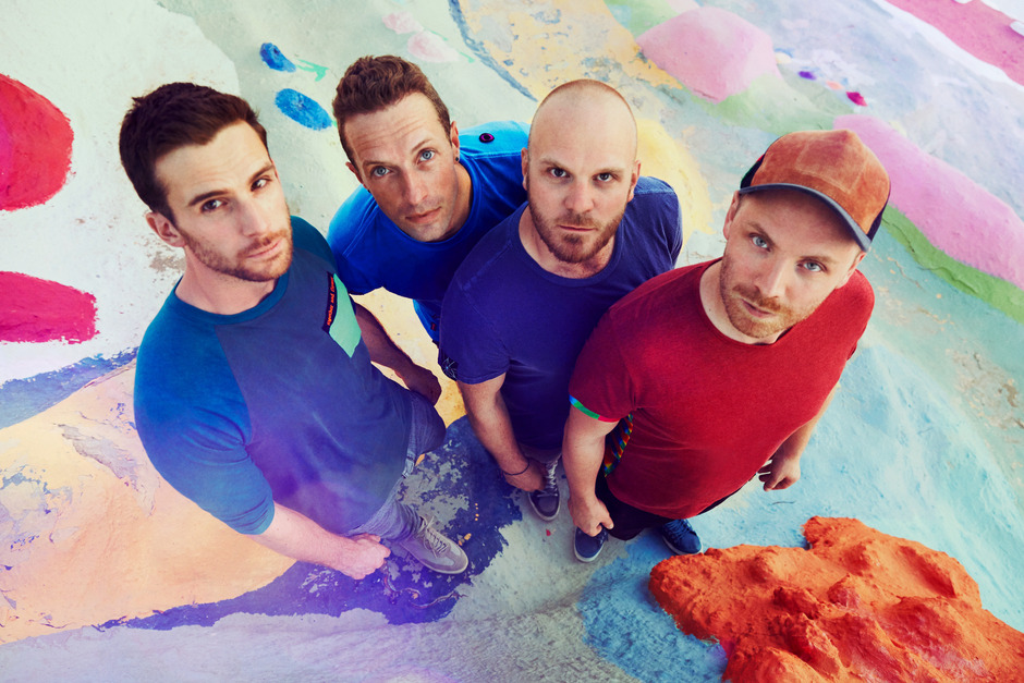 Die britische Band Coldplay.