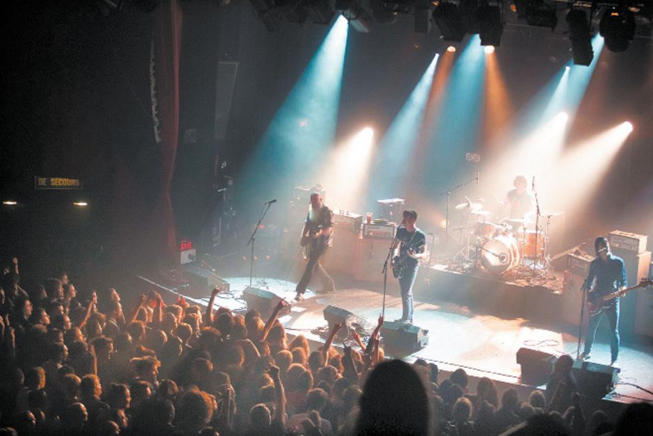 """Das Konzert der """"Eagles of Death Metal"""" war am 13. November Ziel eines Anschlags."""