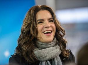 Eislauf-Star Katharina Witt.