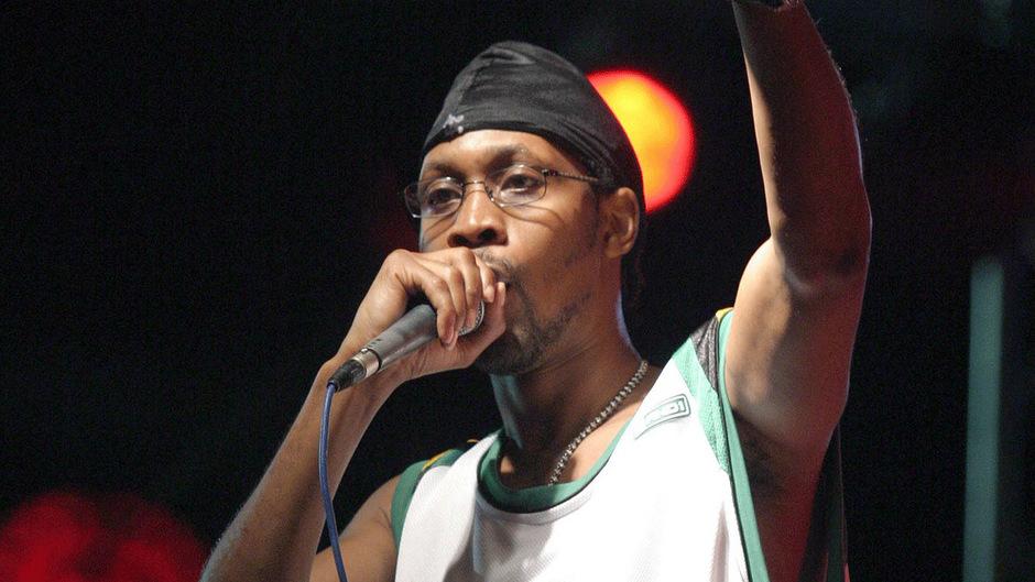 RZA, Sänger und Bandleader des Wu Tang Clans.
