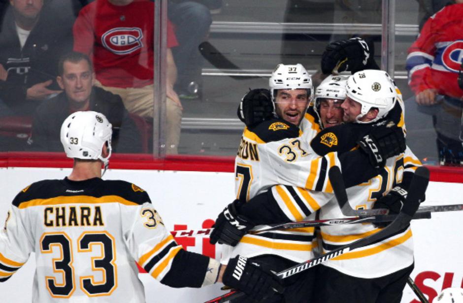 Ein ungewohntes Gefühl: Erstmals seit März 2014 jubelte Boston wieder über einen Sieg gegen Montreal.