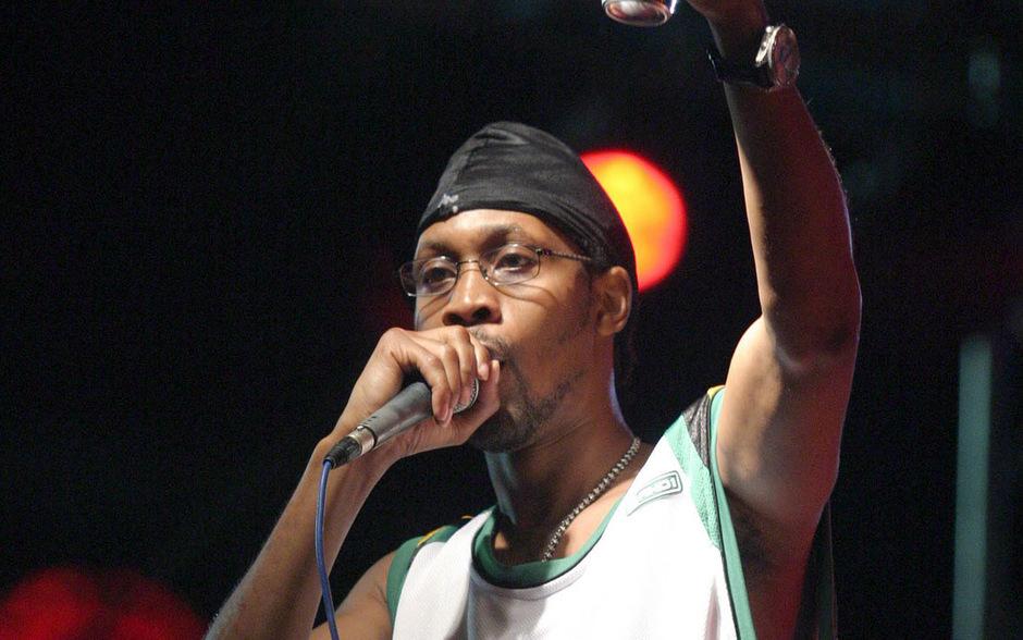 Wu-Tang Clan Frontmann RZA bei einem Konzert im Jahr 2004.