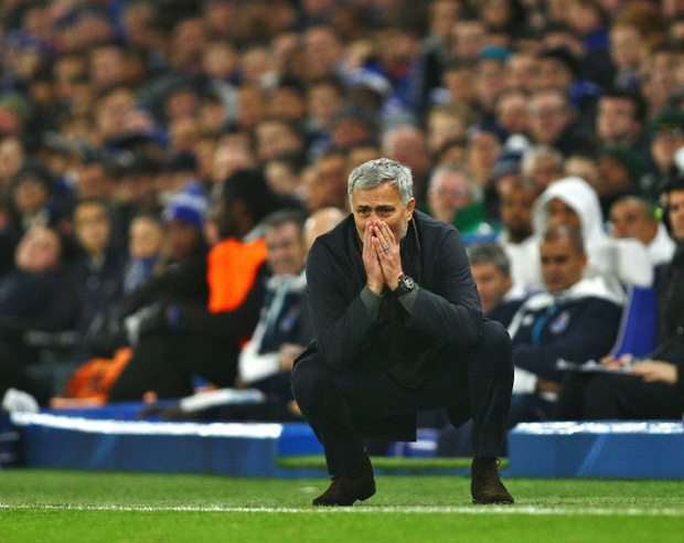 Das Hoffen und Bangen wurde belohnt: Jose Mourinho und der FC Chelsea stehen im Champions-League-Achtelfinale.