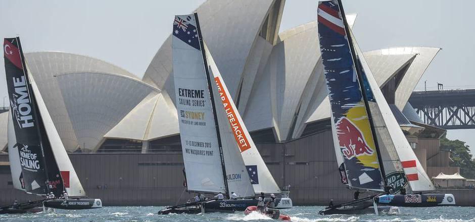 Vor Sydney steigt das Saisonfinale der Extreme Sailing Series 2015.