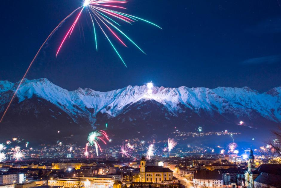 Innsbrucker Bergsilvester 2015