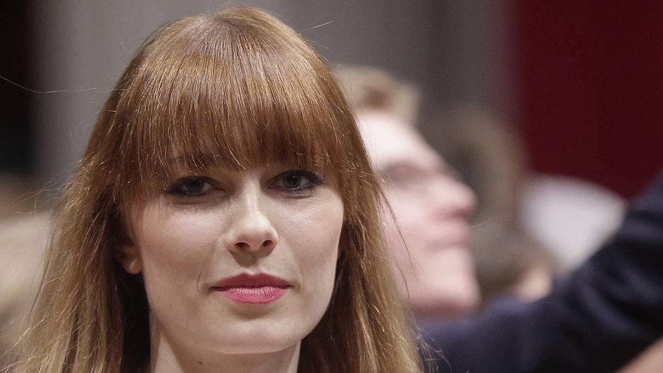 Ena Kadic auf einem Archivbild während der Generalprobe zum Opernball am 25. Februar 2014.
