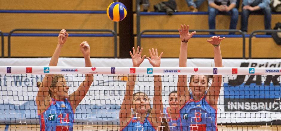 Die TI-Volleyballerinnen streckten sich im Europacup vergebens nach der Überraschung.