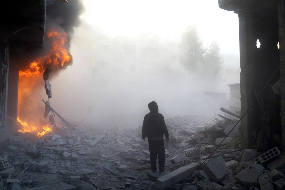 In Syrien toben Kämpfe. Eine rasche Friedenslösung scheint nicht in Sicht.