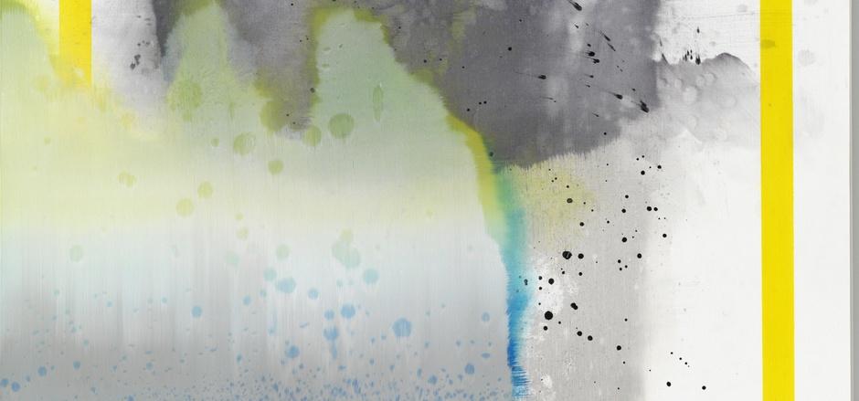 """Erfindet sich ständig neu: 2015 hat der in Berlin lebende Südtiroler Florin Kompatscher dieses titellose Bild gemalt. <span class=""""TT11_Fotohinweis"""">Foto: Galerie Thoman/Borchardt</span>"""