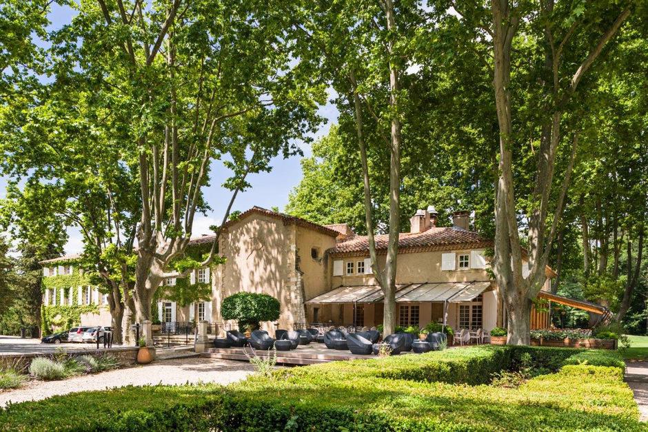 """Das ÖFB-Team logiert im Vier-Sterne-Hotel """"Moulin de Vernegues"""" bei Mallemort."""