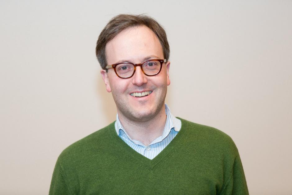 Hotelier Dominik Oberhofer.
