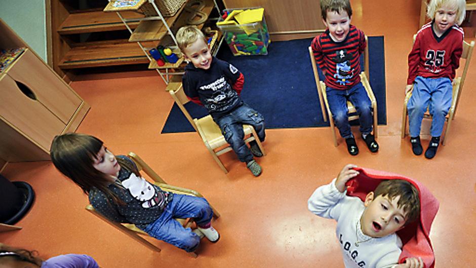 Kindergartenkinder in Wien. Die Vorstudie über islamische Kindergärten hat zu Streit zwischen SPÖ und ÖVP geführt. (Symbolfoto)