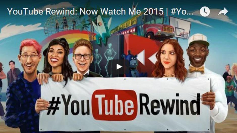 YouTube veröffentlicht jedes Jahr einen Clip mit einem Mix der beliebtesten Songs und Videos.
