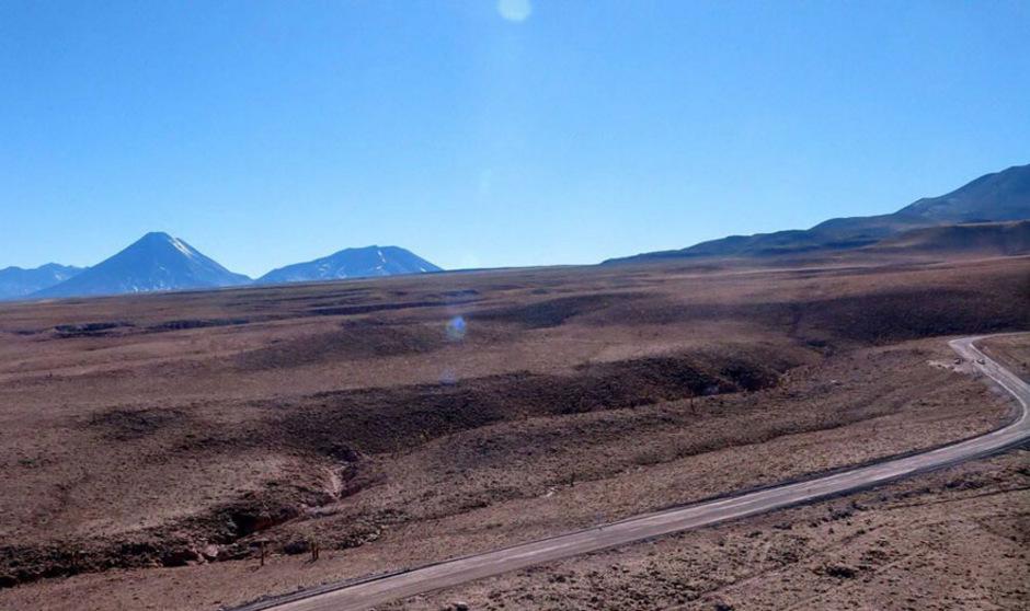 In manchen Gebieten der Atacama-Wüste wurde schon seit Jahrzehnten kein Regen mehr registriert.
