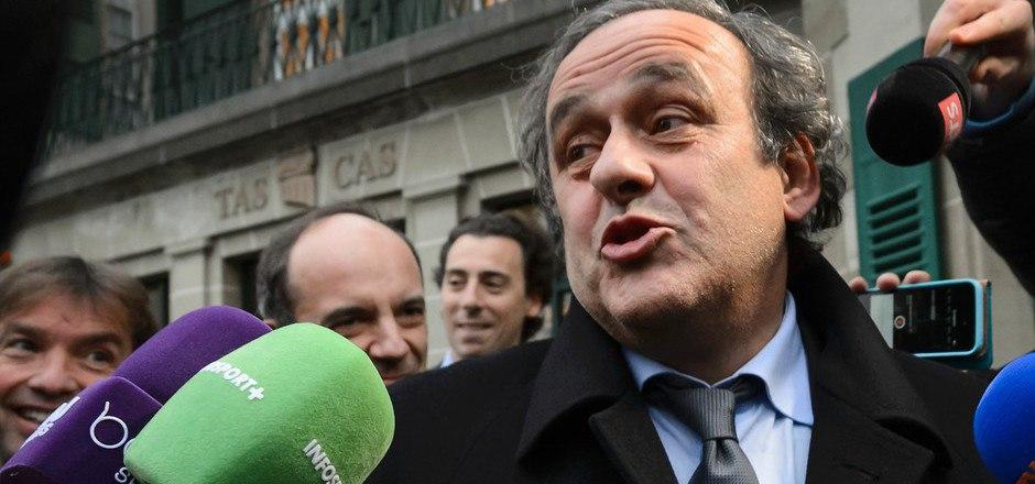 Bleibt weiter gesperrt: Michel Platini.