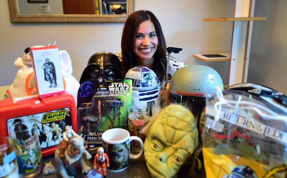 """Für eingefleischte """"Star Wars""""-Fans gibt es jede Menge Merchandising-Produkte (Symbolfoto)."""