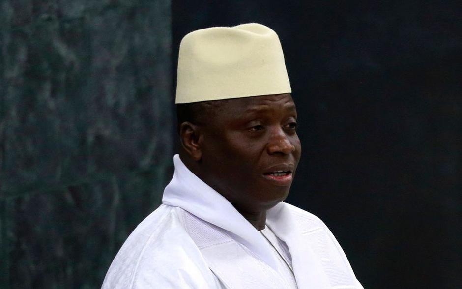 Gambias Präsident Yahya Jammeh