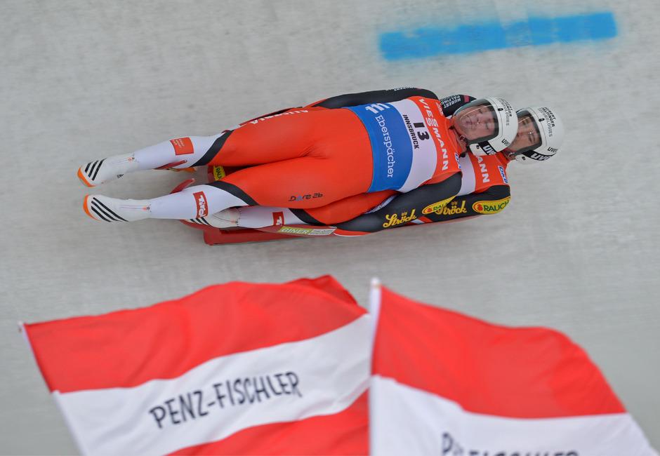 Penz/Fischler überzeugten erneut mit einer starken Leistung.