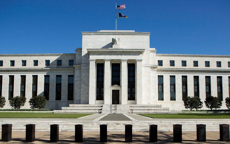Der Hauptsitz der Federal Reserve in Washington.