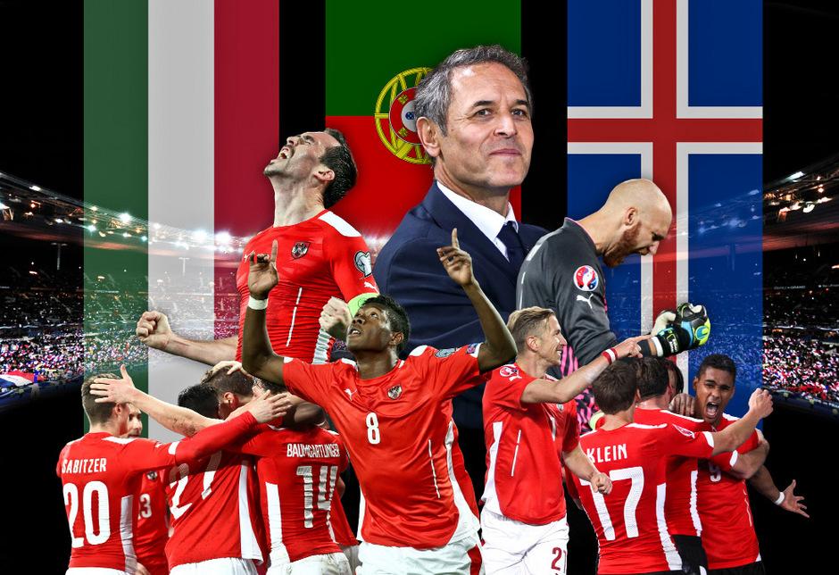öfb Team Trifft Bei Em Auf Portugal Ungarn Und Island Tiroler