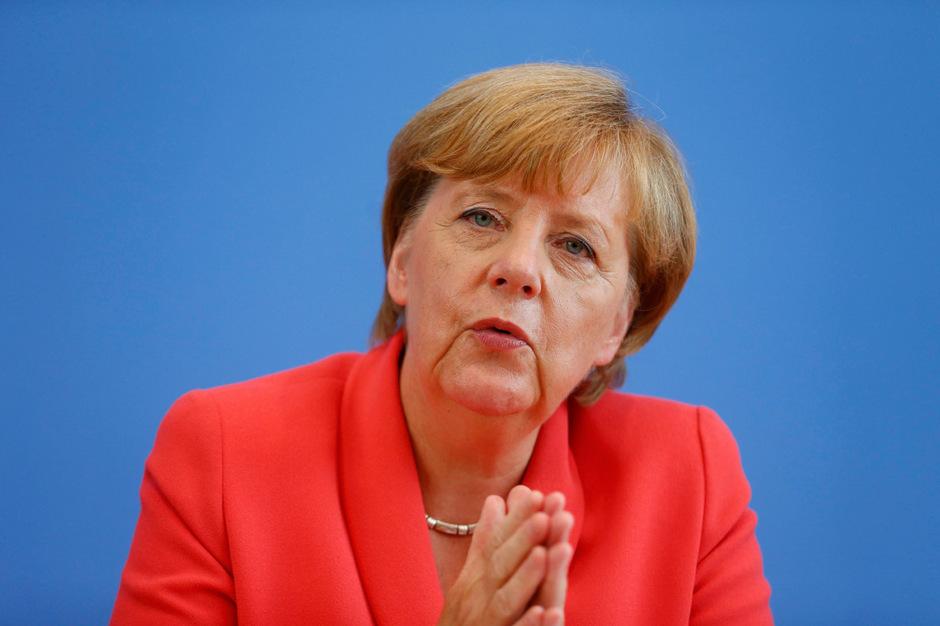 Die deutsche Kanzlerin Angela Merkel (CDU).