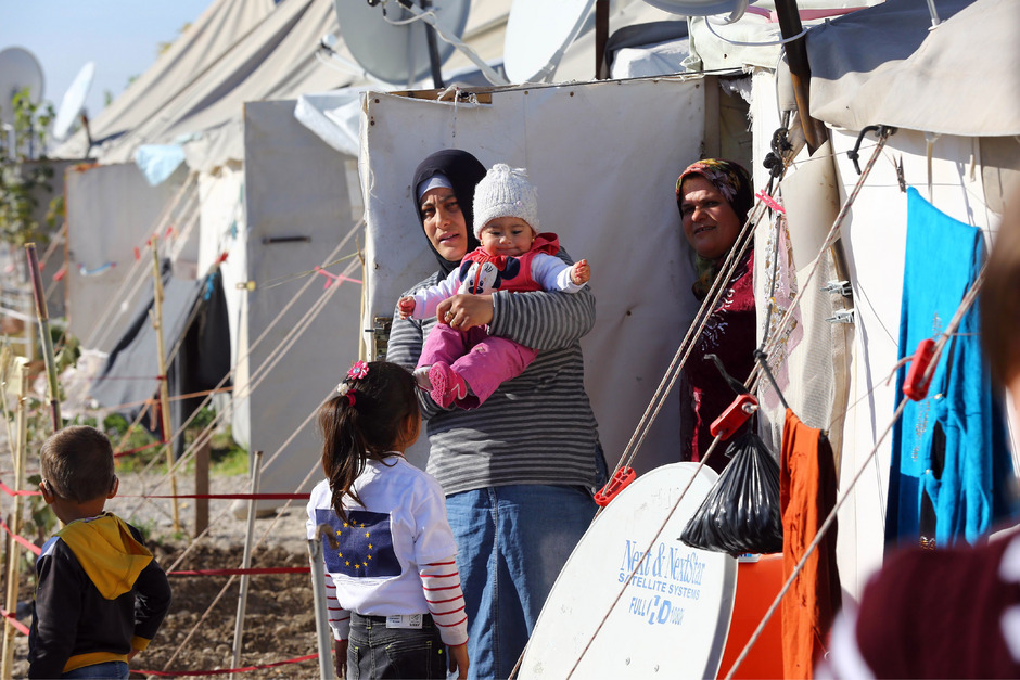 In der Türkei sind bereits rund zwei Millionen Flüchtlinge aus Syrien untergekommen.