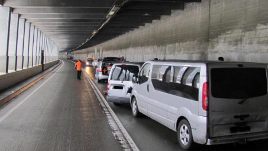 Arlbergtunnel Sperre 2021