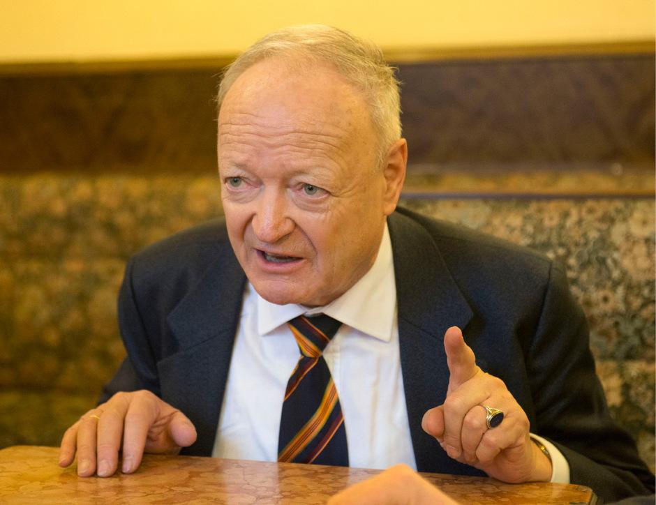 Der Tiroler Andreas Khol will die Interessen der Bevölkerung gegenüber der Bundesregierung vertreten.