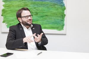Markus Reitshammer vom Tiroler IT-Spezialisten re-systems.