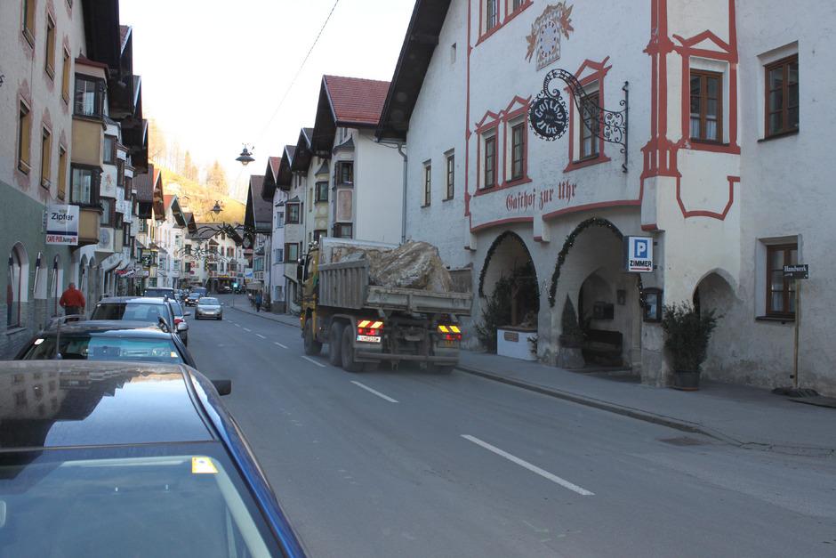 Der Ausweichverkehr belastet die Wipptaler Gemeinden wie hier Matrei.