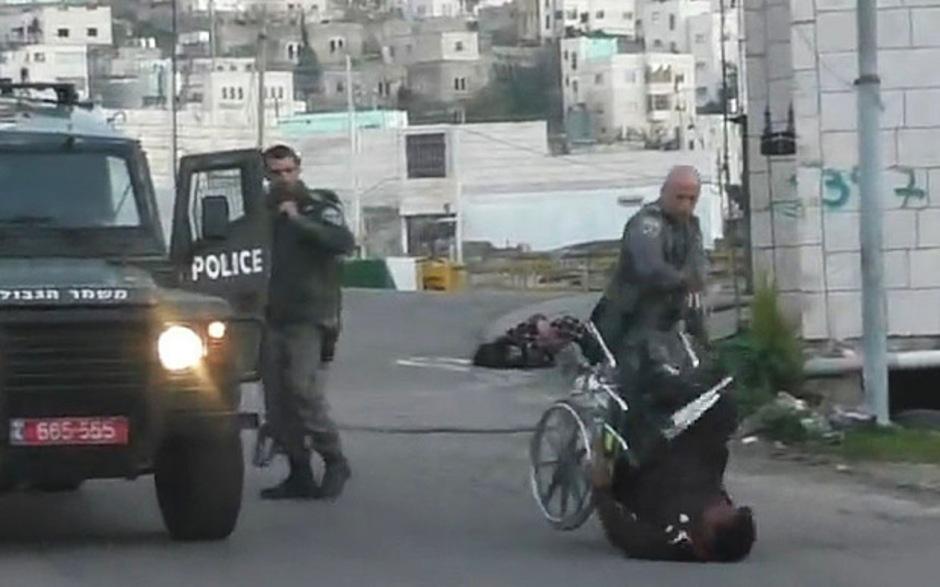 Das Video des Vorfalls in Hebron löste im Internet wütende Reaktionen aus.