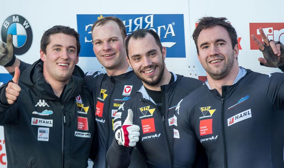 Benjamin Maier und seine Crew jubelten über Platz zwei zum Saisonabschluss.