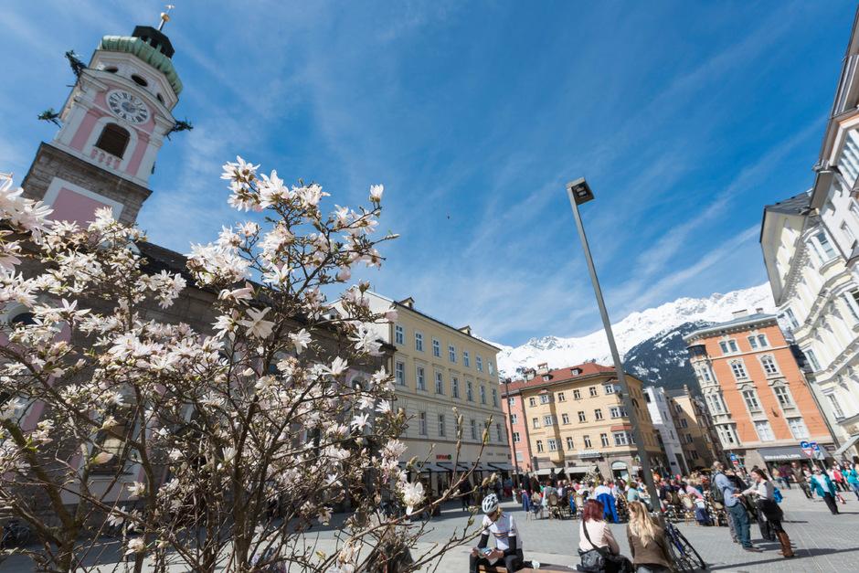 Raus in die Sonne, heißt das Motto am Wochenende in ganz Tirol.