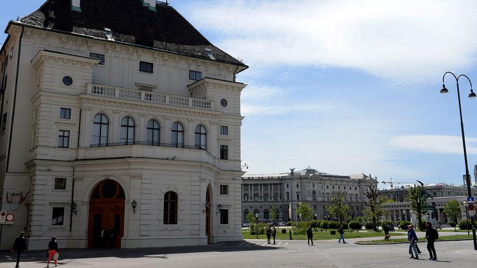 Die Wiener Hofburg, Amtssitz des Bundespräsidenten.