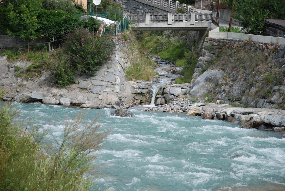 An der Sanna (hier bei Pians) könnte der längste Erlebniswanderweg in den Alpen entstehen.