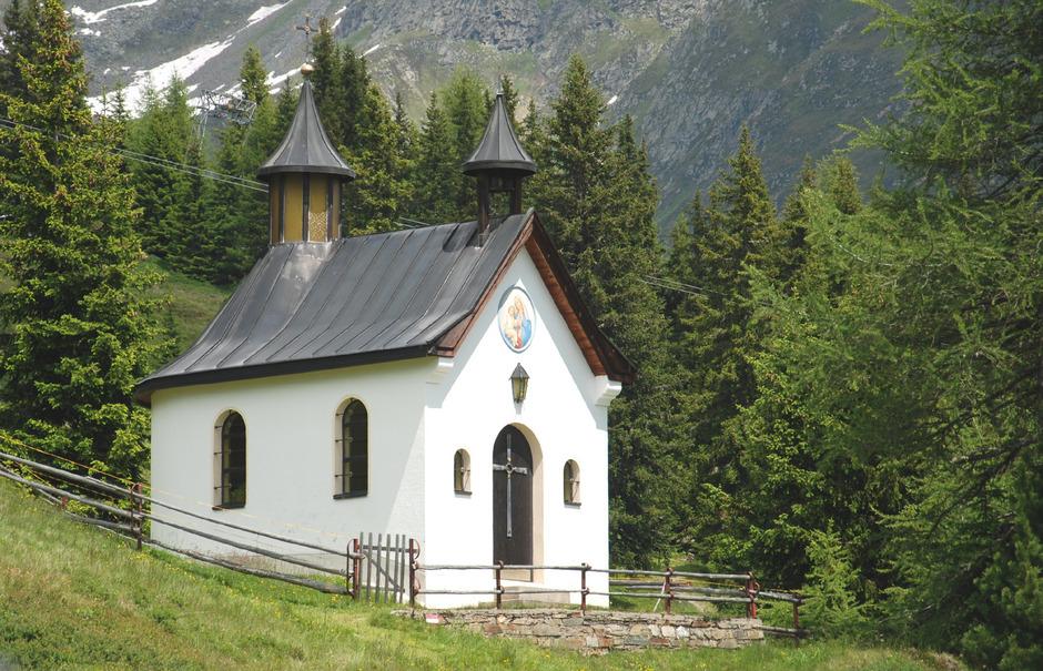 """Im Förderprojekt """"Paznauner Kapellenführer"""" wird auch die Kapelle auf der Dias-Alpe bei Kappl zu finden sein."""