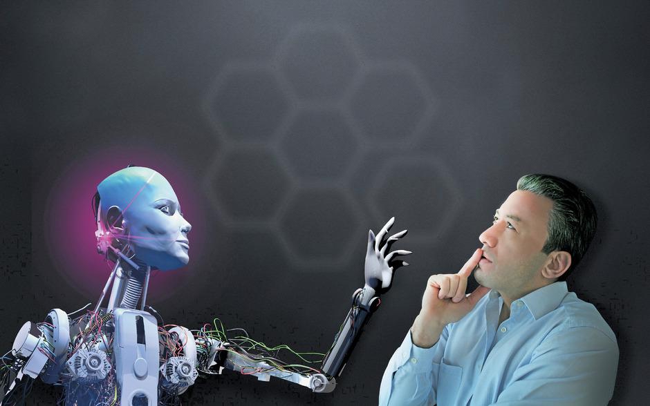 Mein neuer Kollege, der Roboter.
