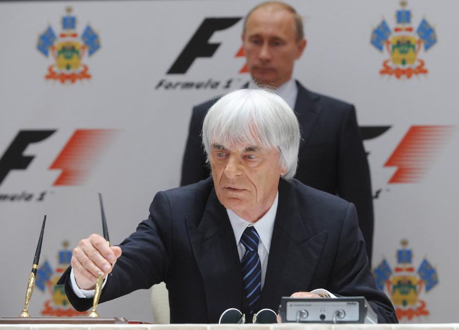 Eccelstone bewunder Putin.
