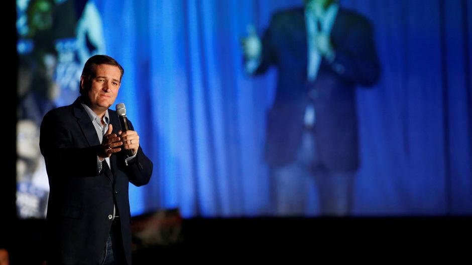 Der republikanische Präsidentschaftskandidat Ted Cruz kämpft mit ultrakonservativer Symbolik um seine letzte Chance.