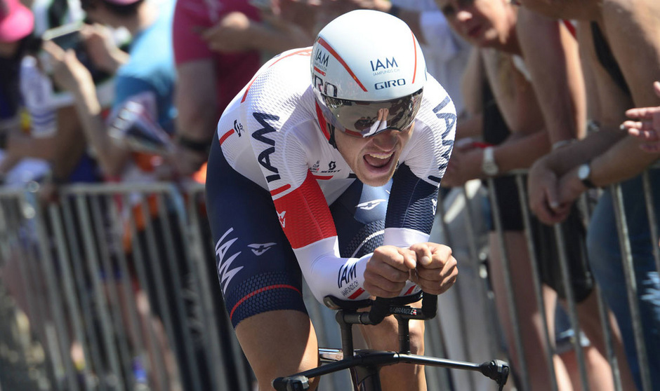 Matthias Brändle fuhr knapp am ersten Giro-Sieg eines Österreichers vorbei.