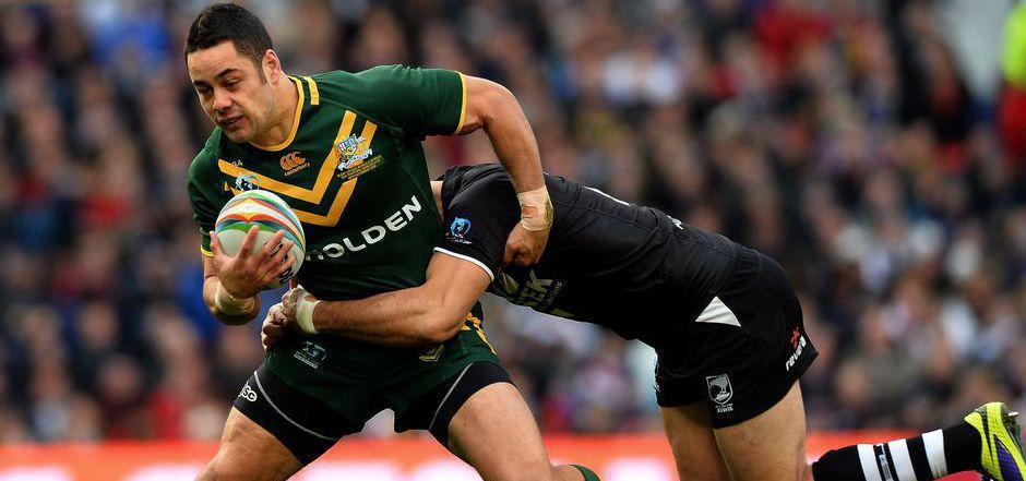 Jarryd Hayne kehrt zu seinen Rugby-Wurzeln zurück.