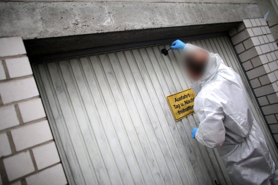 Die sterblichen Überreste einer Prostituierten wurden in der Garage des Verdächtigen in Schwalbach gefunden.