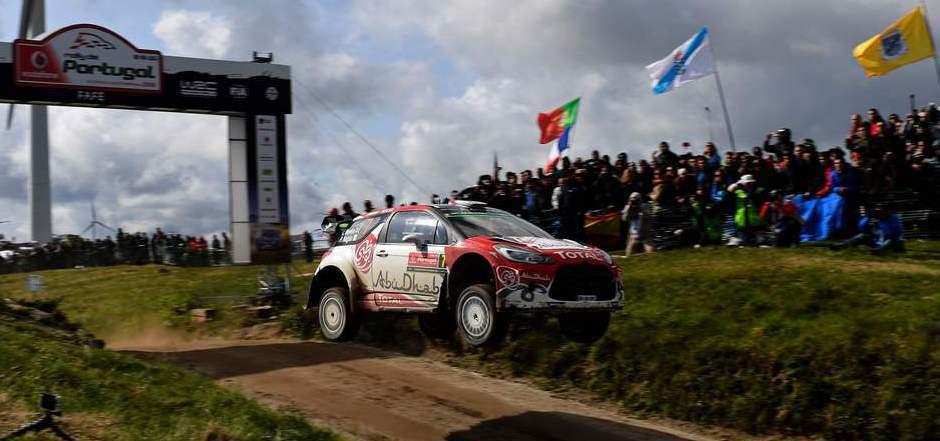 Kris Meeke fuhr in Portugal zum Sieg.