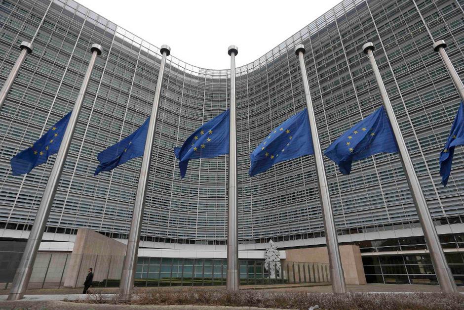 Sitz der EU-Kommssion in Brüssel.
