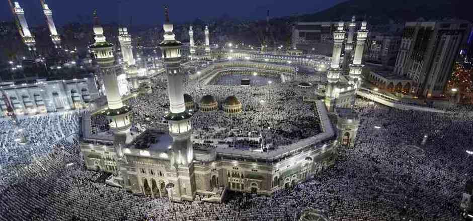 Die große Moschee von Mekka. (Archivbild)