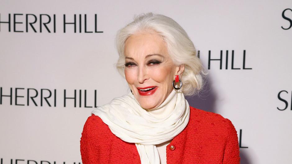 Carmen Dell'Orefice ist seit 70 Jahren ein gefragtes Model.