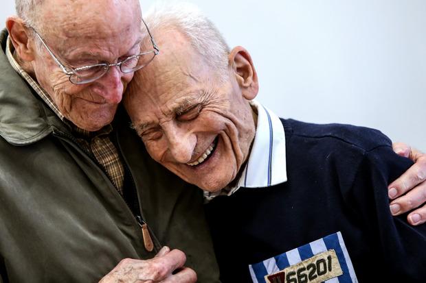 Das Siegerbild in der Kategorie Chronik von Volker Weihbold. Die letzten Überlebenden und Befreier des Konzentrationslagers trafen sich in Mauthausen.