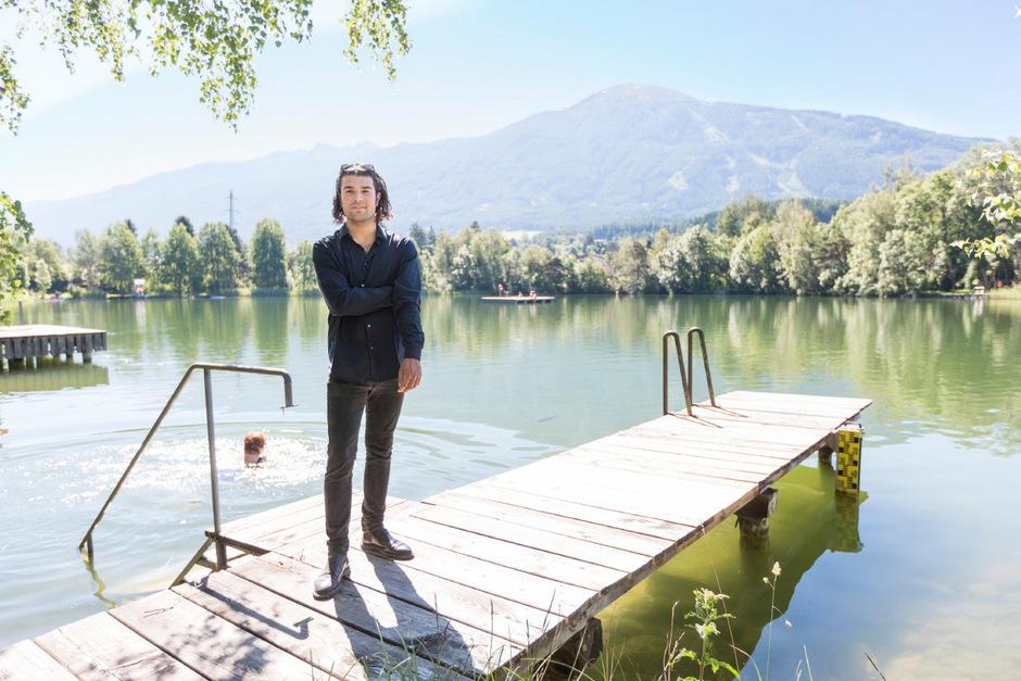 Seit März führt Daniel Rhomberg am Lanser See die Geschäfte. Er will den See verstärkt für die Öffentlichkeit nutzbar machen.