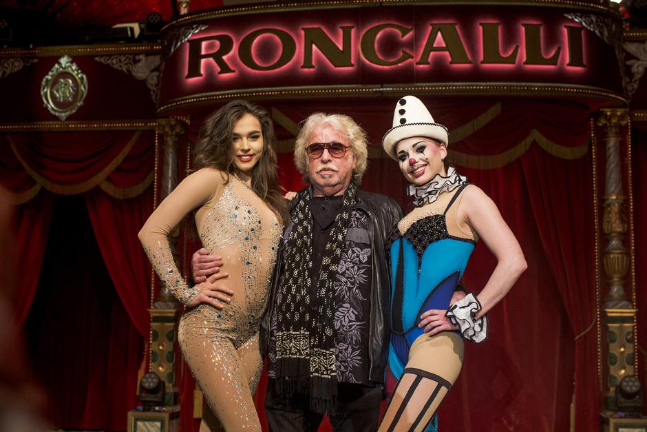 Bernhard Paul gründete den Zirkus Roncalli im Jahr 1976. Er begeisterte auch selbst als Clown Zippo.
