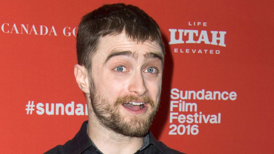 """Daniel Radcliffe bei der Premier des Films """"Swiss Army Man"""" im Jänner."""